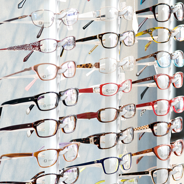 Blink Opticians Frame Choice