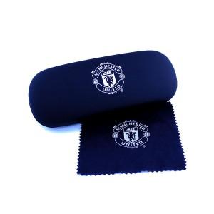 Man Utd Glasses Case & Cloth