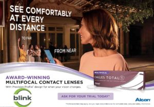 Blink Opticians Launches Alcon Multifocal Total1 Dailies